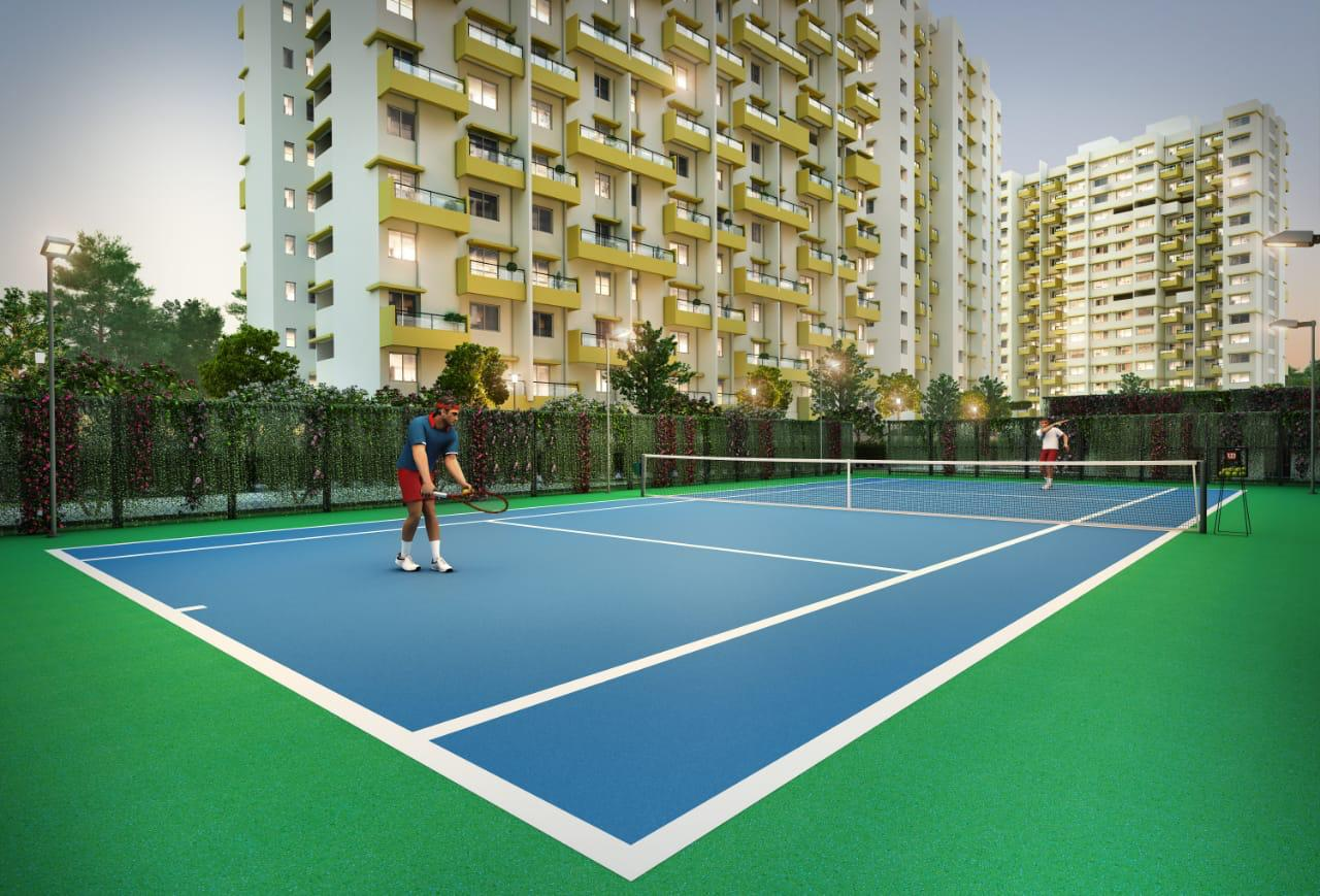 Sports Facility ground work at Pimple Saudagar (PCMC)