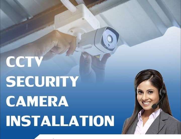 CCTV SECURITY CAMERA INSTALLATION