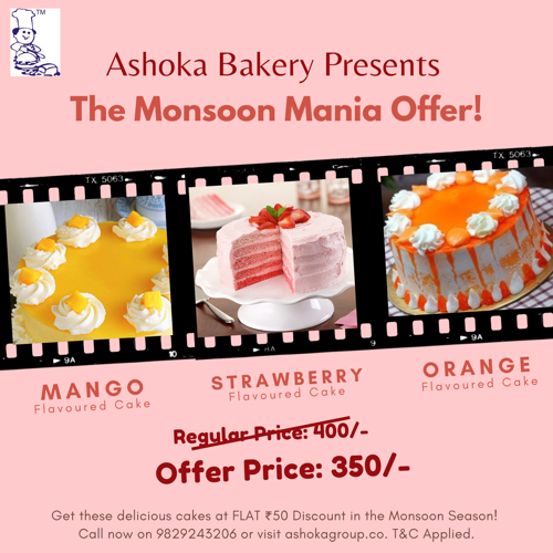 Monsoon Mania Offer!