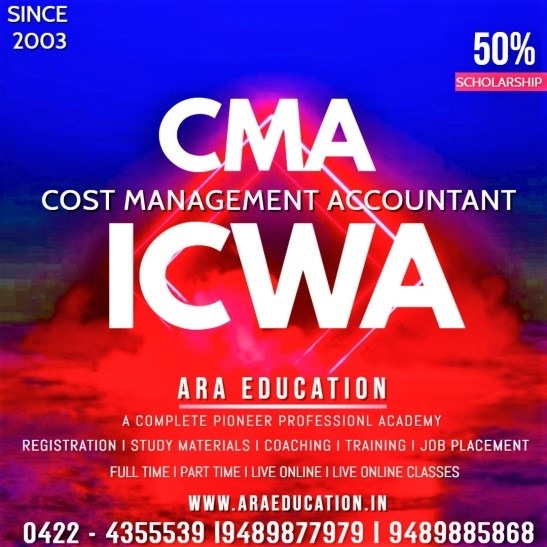 Cost & Management Accountant Course – CMA   ICWA
