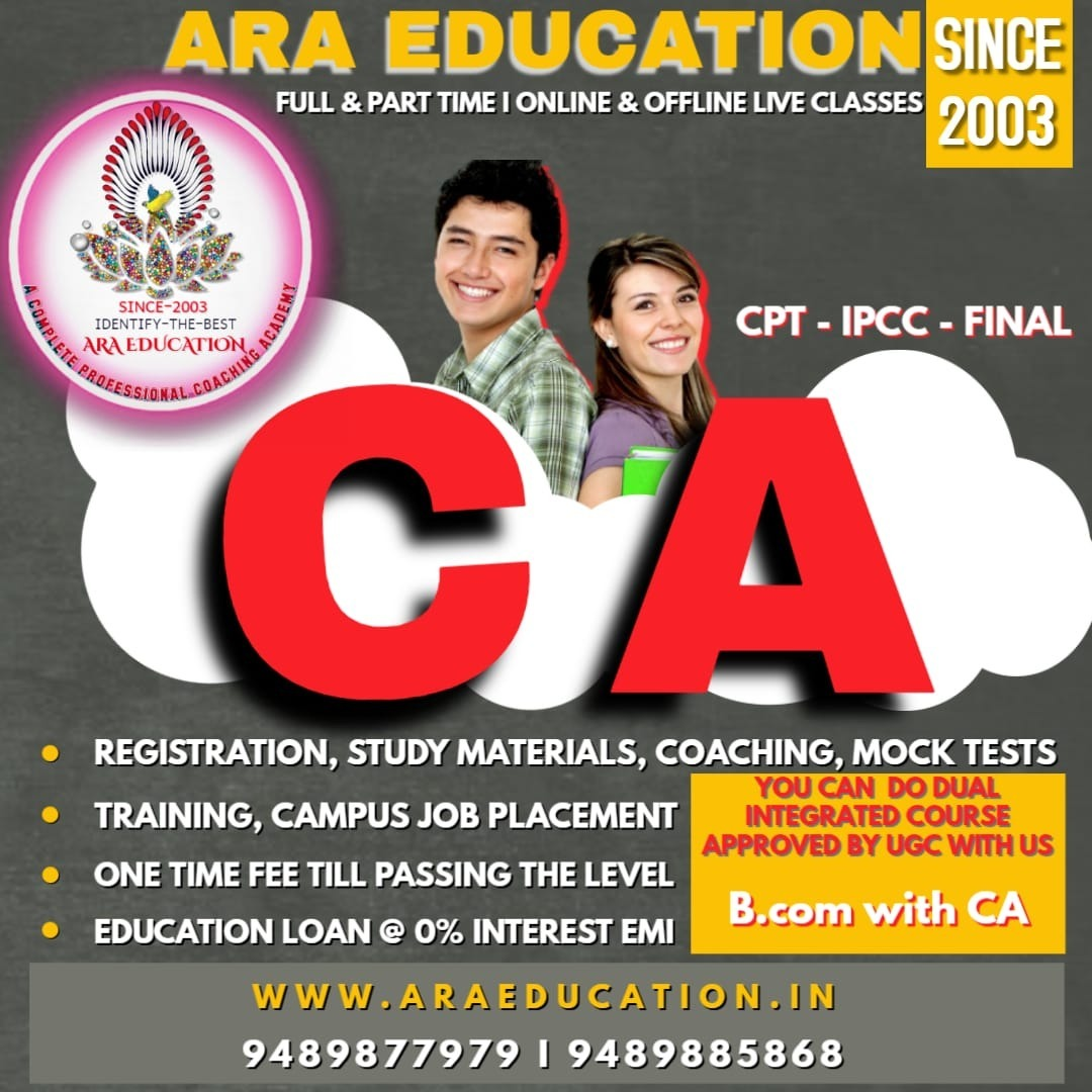 Chartered Accountant Course – CA