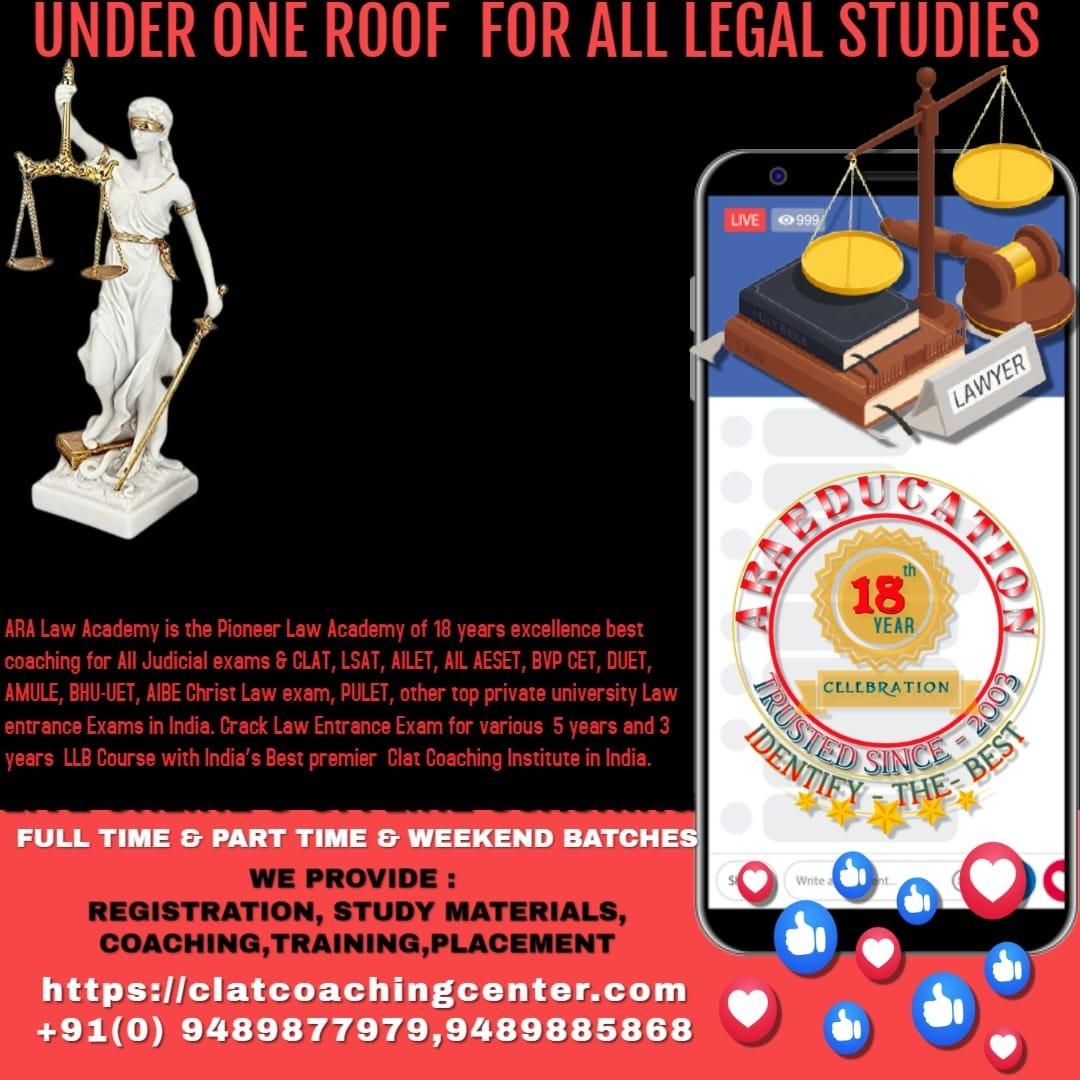 Judiciary Examination Coaching  ( TN- Civil Judge Exam )
