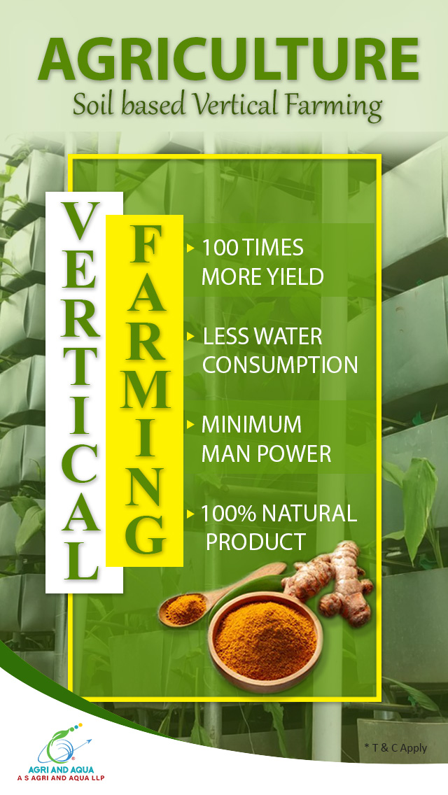 Agriculture - Vertical Farming.