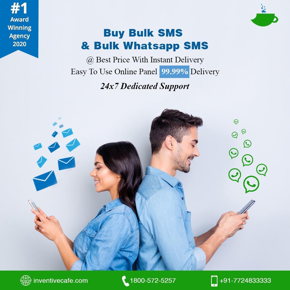 Bulk SMS & Bulk Whatsapp SMS