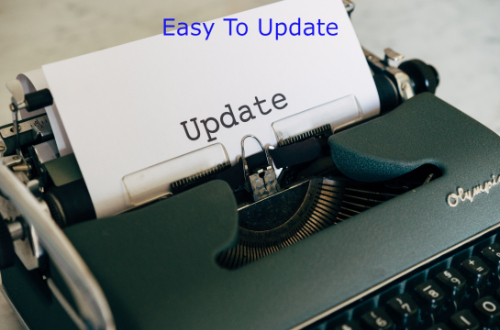 Easy To Update